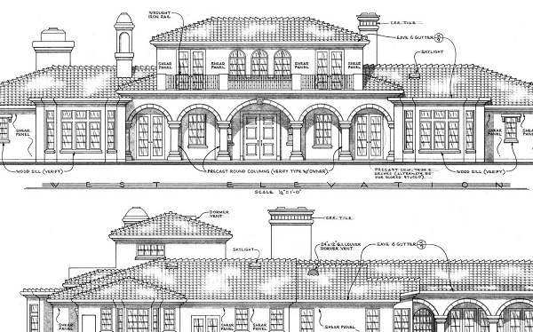 elevation plan detail