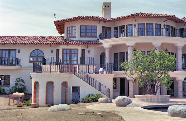 Luxury home plans for Luxury house exterior designs